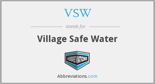VSW - Village Safe Water