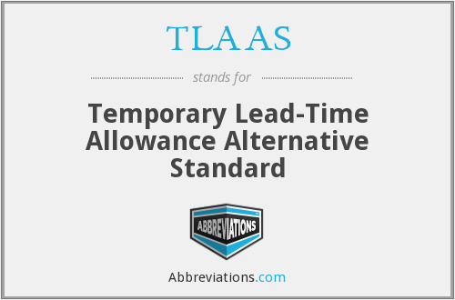 What does TLAAS stand for?