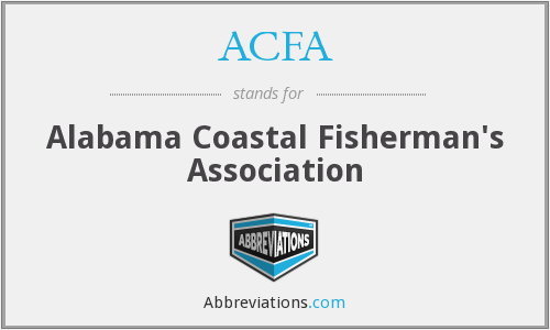 ACFA - Alabama Coastal Fisherman's Association