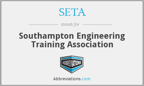 SETA - Southampton Engineering Training Association