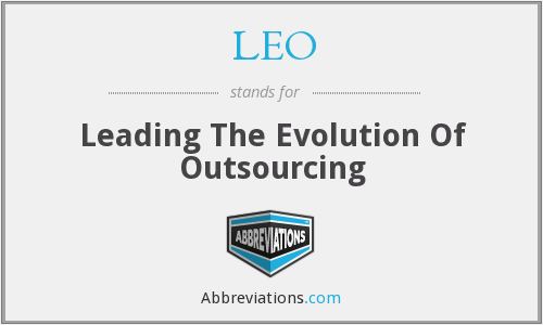 LEO - Leading The Evolution Of Outsourcing