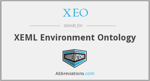 What does XEO stand for?