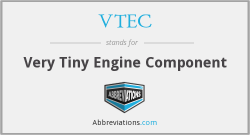 VTEC - Very Tiny Engine Component