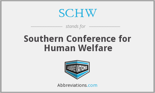 What does SCHW stand for?