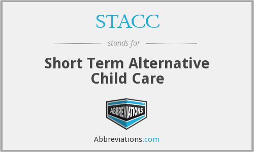 What does STACC stand for?