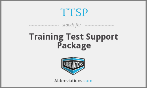 TTSP - Training Test Support Package