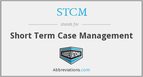 What does STCM stand for?