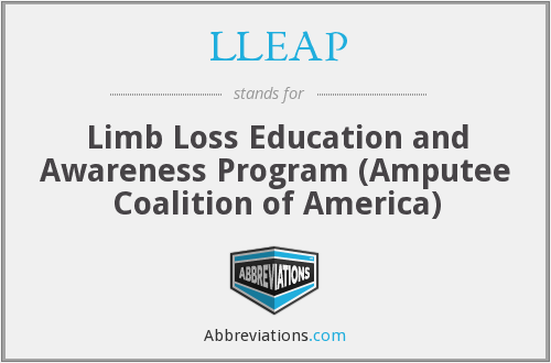 What does LLEAP stand for?