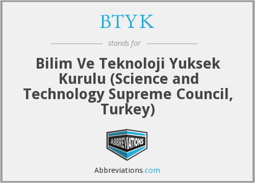 What does BTYK stand for?