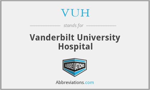 VUH - Vanderbilt University Hospital