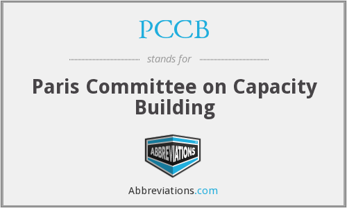 What does PCCB stand for?