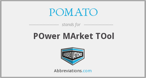 What does POMATO stand for?