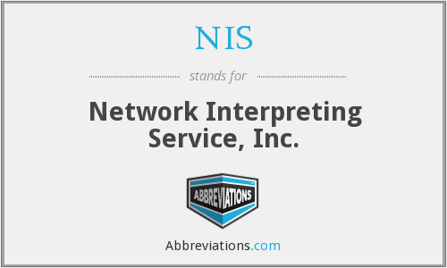 What does NIS stand for?