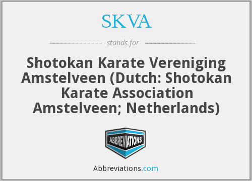 What does SKVA stand for?