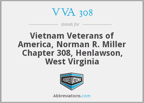 VVA 308 - Vietnam Veterans of America, Norman R. Miller Chapter 308, Henlawson, West Virginia