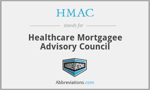 HMAC - Healthcare Mortgagee Advisory Council