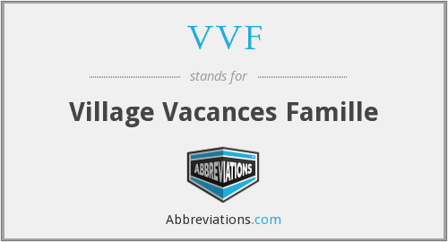 What does VVF stand for?