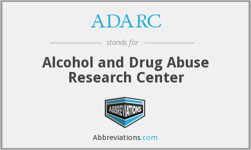 What does ADARC stand for?