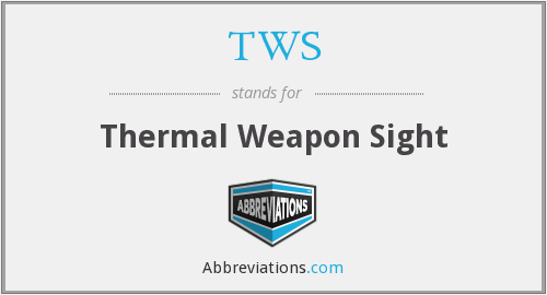 TWS - Thermal Weapon Sight