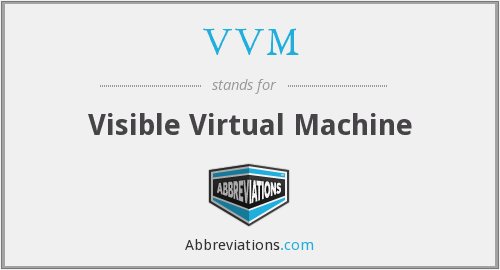 VVM - Visible Virtual Machine