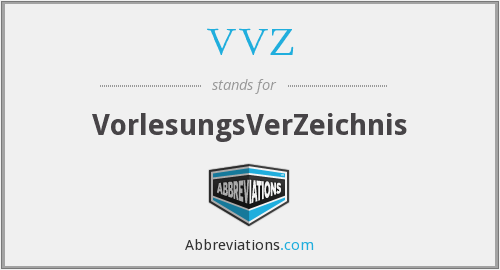 What does VVZ stand for?
