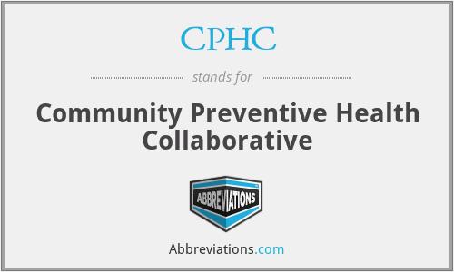 CPHC - Community Preventive Health Collaborative