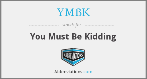 What does YMBK stand for?