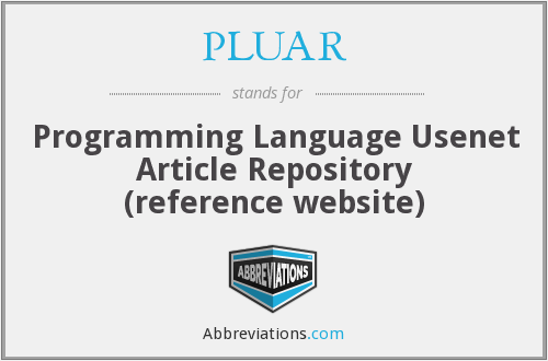 PLUAR - Programming Language Usenet Article Repository (reference website)