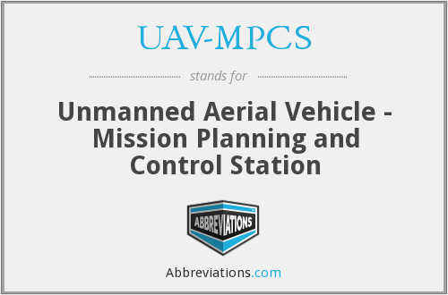 What does UAV-MPCS stand for?