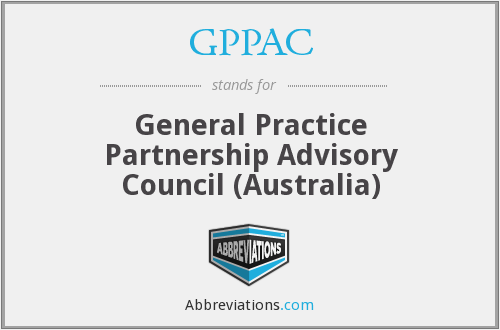 What does GPPAC stand for?