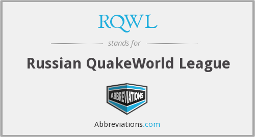 What does RQWL stand for?