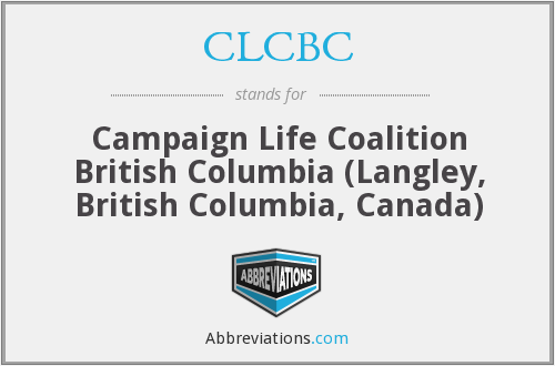 What does CLCBC stand for?