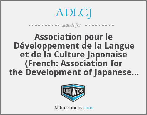 What does ADLCJ stand for?