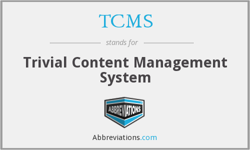 TCMS - Trivial Content Management System