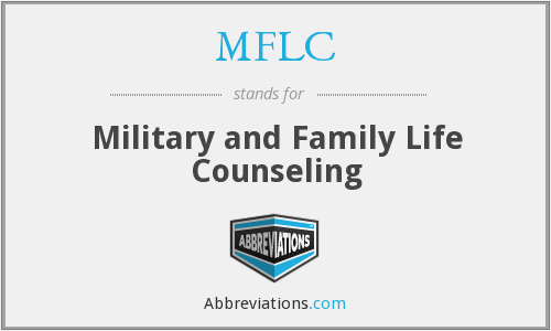 MFLC - Military and Family Life Counseling