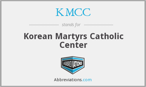 KMCC - Korean Martyrs Catholic Center