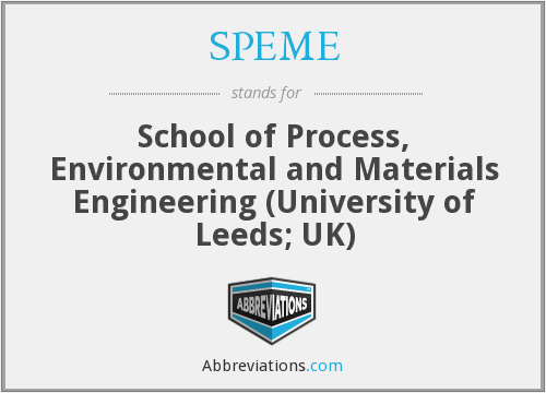 What does SPEME stand for?