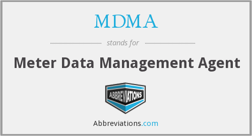 MDMA - Meter Data Management Agent