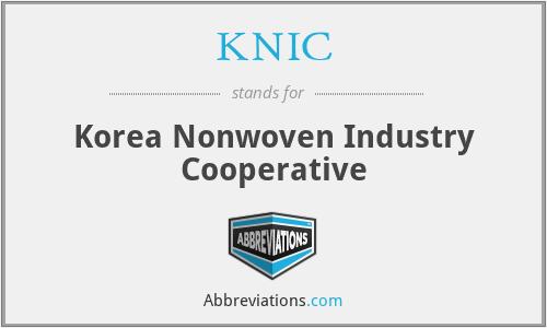 KNIC - Korea Nonwoven Industry Cooperative