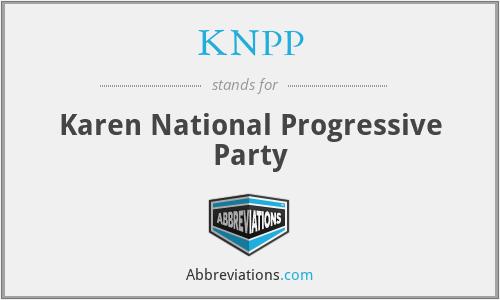 KNPP - Karen National Progressive Party
