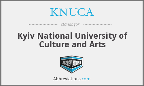 What does KNUCA stand for?