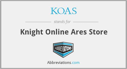 KOAS - Knight Online Ares Store