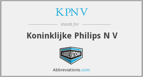 What does KPNV stand for?