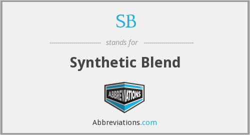 SB - Synthetic Blend