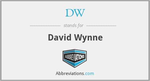 DW - David Wynne
