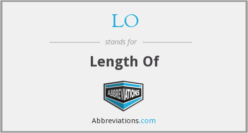 LO - Length Of
