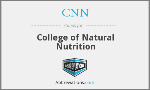 CNN - College of Natural Nutrition