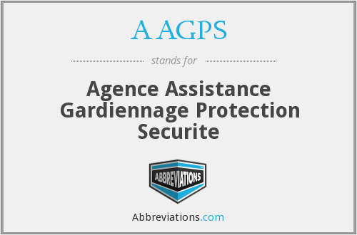 What does AAGPS stand for?