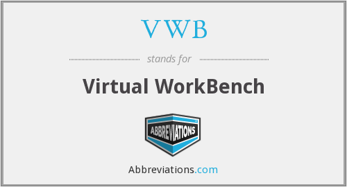 VWB - Virtual WorkBench