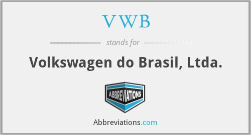 VWB - Volkswagen do Brasil, Ltda.